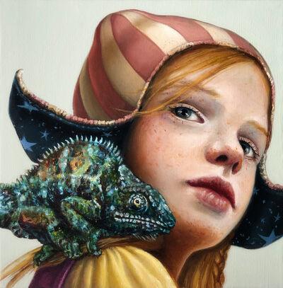 Claudia Giraudo, 'Bimba con camaleonte / Souvenir XVIII', 2020