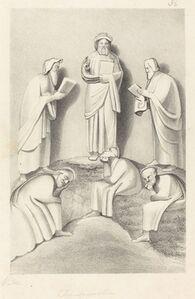 W. Walton after John Flaxman, 'The Transfiguration', published 1829