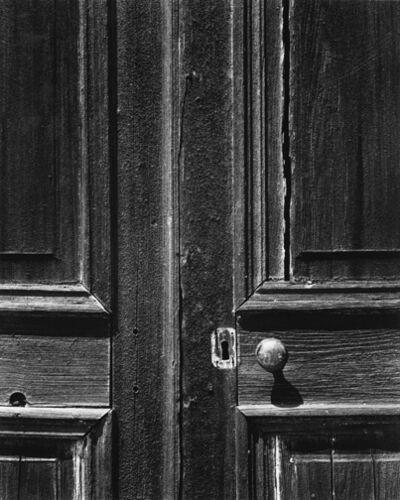 Ansel Adams, 'Door, Old Church, Chinese Camp, California', 1944, printed circa 1951, 1952