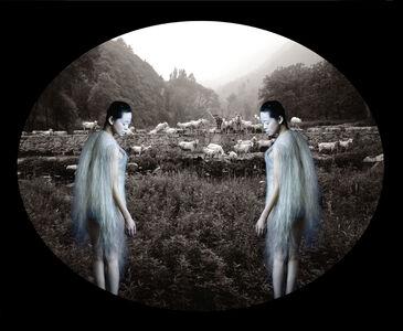 Lin Tianmiao & Wang Gongxin, 'Here? or There?', 2002