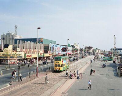 Simon Roberts, 'Blackpool Promenade, Lancashire, 24th July 2008', 2011