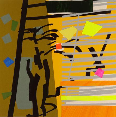 Bruce McLean, 'Tree Fern Shadow', 2015