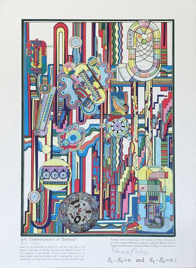 Eduardo Paolozzi, 'Turing Series No. 7', 2000