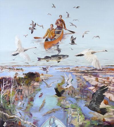 John Hartman, 'High Water at the Big River', 2020