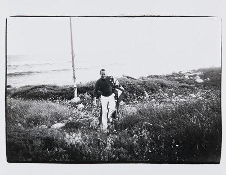 Andy Warhol, 'Andy Warhol, Halston in Montauk'