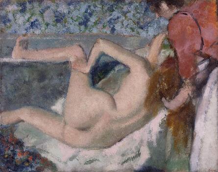 Edgar Degas, 'After the Bath', 1895