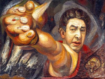 David Alfaro Siqueiros, 'Autorretrato (El coronelazo)', 1945