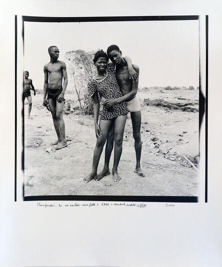 Malick Sidibé, 'Pourquoi tu m'enlèves ma fille ?', 1976