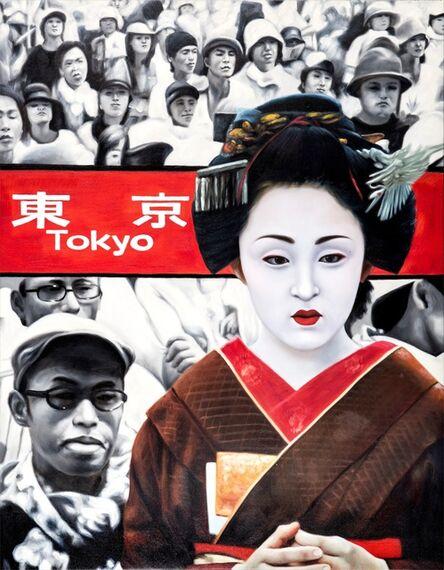 RYOKO WATANABE, 'red tokyo 2', 2011