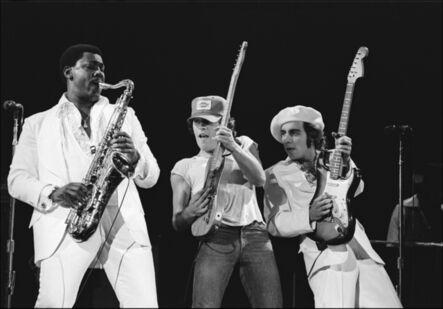Allan Tannenbaum, 'Bruce Springsteen E Street Trio', 1976