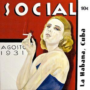 Andres Conde, 'SOCIAL : Lempicka', 2014