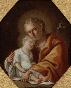 Pietro Bardellino, 'Joseph Holding the Christ Child', 1755-1765