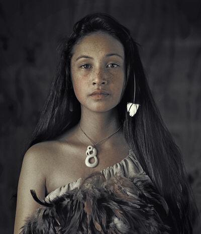 Jimmy Nelson, 'Rauwhiri Winitana Paki, Taupo Village, North Island New Zealand', 2011