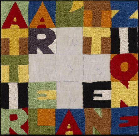 Alighiero Boetti, 'Attract Attention (Attirare l'Attenzione)', 1988