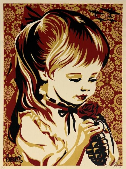 Shepard Fairey, 'War by Numbers (Red)', 2007