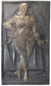 Gaston Lachaise, 'Bas Relief, Woman', 1934