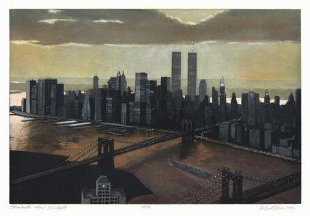 Richard Haas, 'Manhattan View, Twilight.', 1999