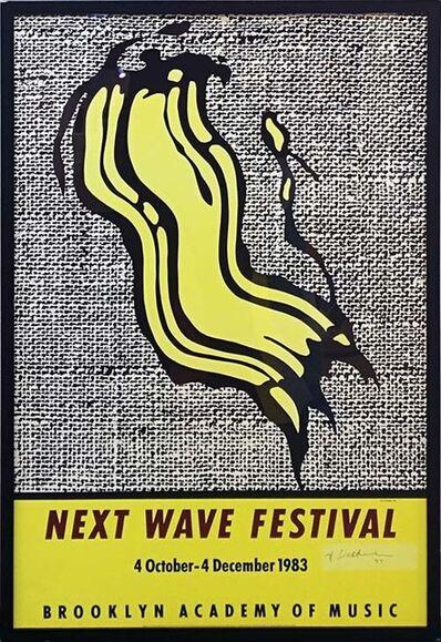 Roy Lichtenstein, 'NEXT WAVE FESTIVAL POSTER', 1983