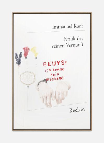 Alex Wissel, 'Kritik der reinen Vernunft', 2018