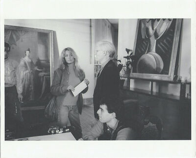Andy Warhol, 'Farrah Fawcett and Andy Warhol ', 1972-1986