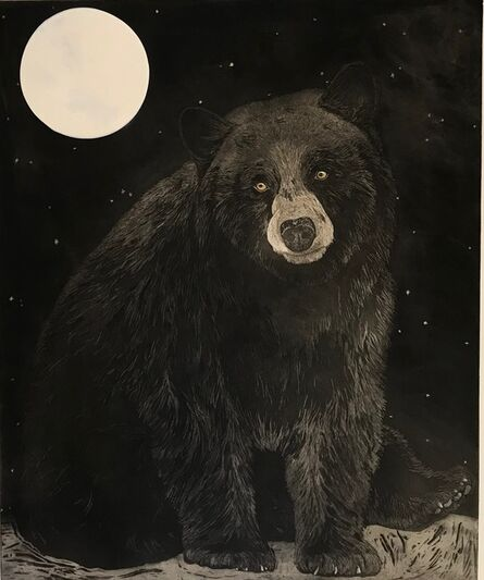 Julia Lucey, 'Black Bear Moon', 2018