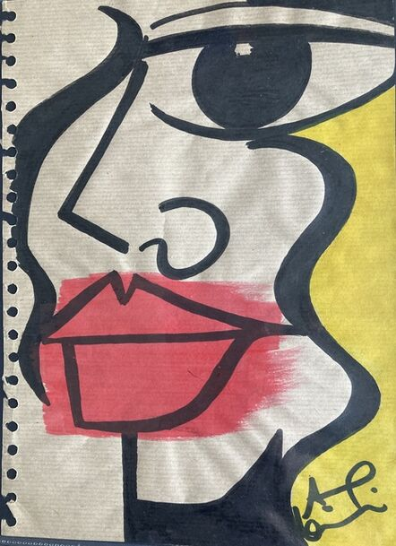 Anna Laurini, 'She Blonde - A4', 2020