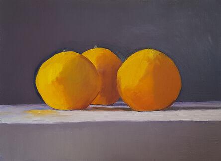 Dan McCleary, 'Three Oranges', 2018