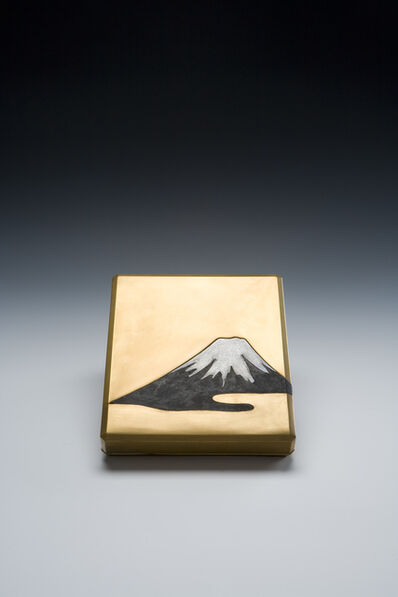 Unknown Artist, 'Writing Box with Mount Fuji (T-3177)', Meiji era (1868, 1912), ca. 1900