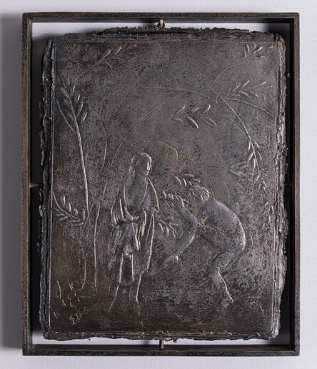 Giacomo Manzù, 'Orfeo nel mio studio (incontro)', 1934