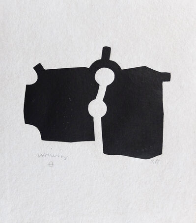 Eduardo Chillida, 'Zubi', 1973