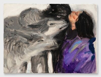 Mari Eastman, 'Woman with Wolves', 2018