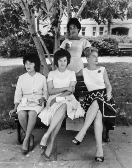 Evelyn Hofer, 'Secretaries in Rawlings Park, Washington D.C.', 1965