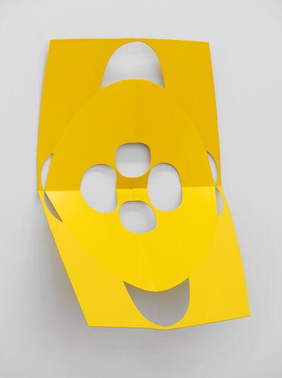 Matt Keegan, 'Cutout (Yes Yellow)', 2019