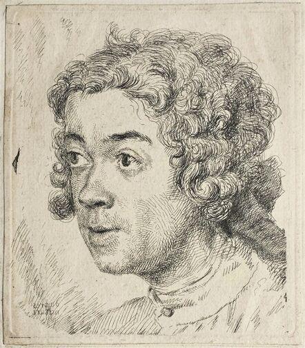 Jean-Étienne Liotard, 'Self-Portrait as a Young Man', ca. 1731