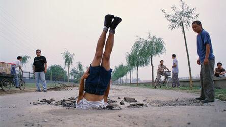 Li Wei 李日韦, 'Li Wei Falls to the Earth', 2002