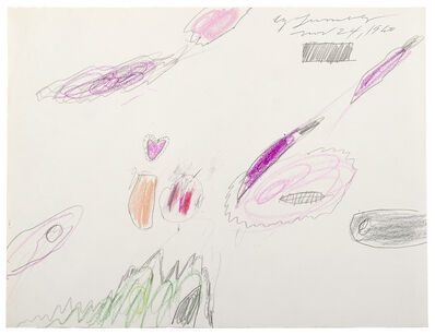 Cy Twombly, 'Untitled', 1960