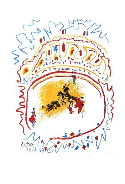 Pablo Picasso, 'Tauromachie (avant la lettre)', 1982