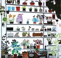 Jonas Wood, 'Large Shelf Still Life poster (SIGNED)', 2017