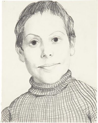 John Currin, 'Sister', 1993