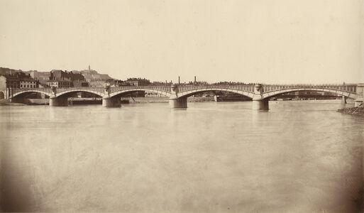 Édouard Baldus, 'Lyon, Viaduc du Rhone', 1855-56/1861c