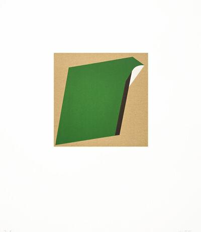 Tony Delap, 'Too Much Green II', 2012