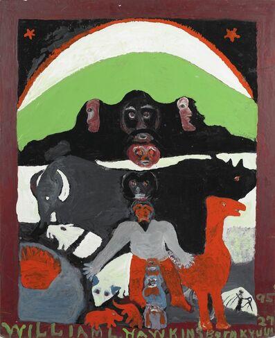 William Hawkins, 'Nice Faces of Modern Man', 1984