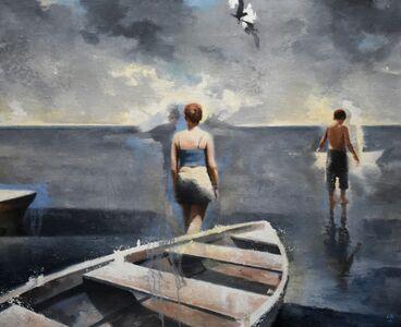 Gary Ruddell, 'Walking on Water, 1st Study', 2018