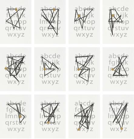 Kay Rosen, 'Mappings', 2017