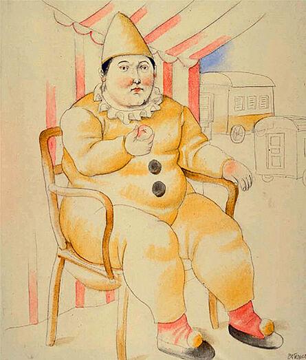 Fernando Botero, 'Pierrot', 2008