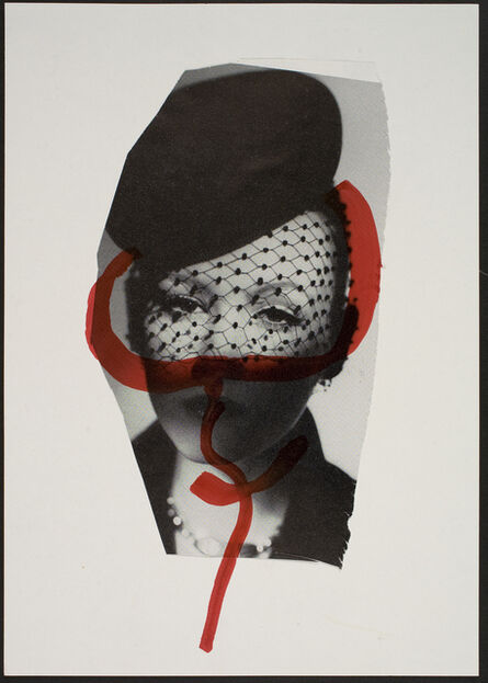 Lene Adler Petersen, 'One of a total of 484 works from the series Cuttings on Paper with the Female Sign', 1974