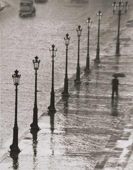 André Kertész, 'Place Gambetta, Paris', 1929 / 1960c