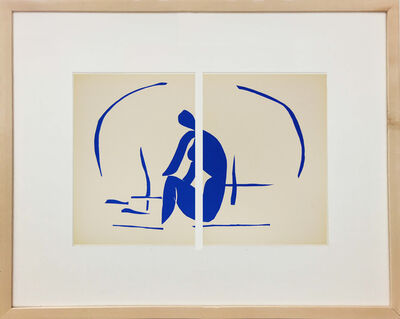 Henri Matisse, 'Baigneuse Dans Les Roseaux (Bather In The Reeds)', 1958
