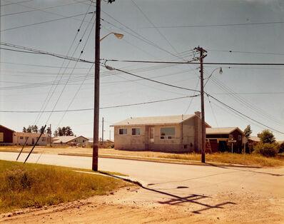 Stephen Shore, 'Wilde Street and Colonization Avenue, Dryden, Ontario, August 15, 1974'