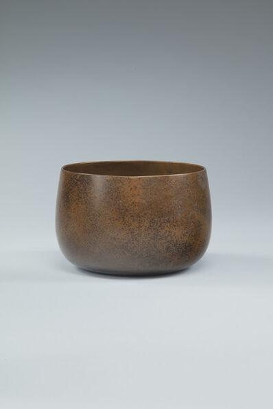 Shibata Zeshin, 'Waste-water bowl with simulated bronze surface', ca. 1870